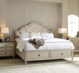 Brookhaven Panel Bed w/ Storage Footboard by Legacy Classic