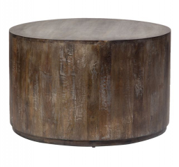Round Drum Coffee Table by Porter