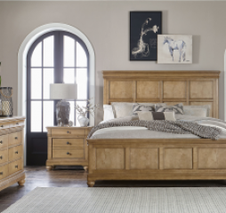 Ashby Woods Panel Bed by Legacy Classic