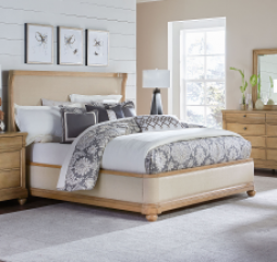Ashby Woods Upholstered Bed by Legacy Classic