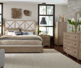 Bridgewater Upholstered Bed by Legacy Classic
