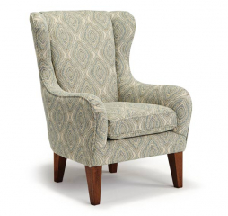 Lorette Wing Back Chair by Best Home Furnishings