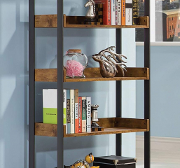 Estrella Industrial Bookcase by Coaster