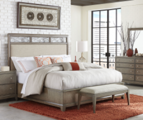 Apex Upholstered Bed by Legacy Classic