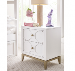 Chelsea Nightstand w/ Decorative Lattice by Legacy Classic Kids