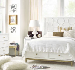 Chelsea Panel Bed w/ Storage Footboard by Legacy Classic