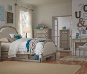 Emma Upholstered Panel Bed by Legacy Classic Kids