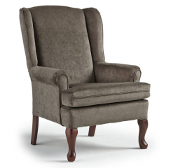 Vespa Wing Back Chair by Best Home Furnishings
