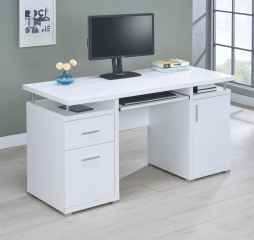 Tracy 2-Drawer Computer Desk by Coaster