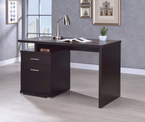 Irving 2-Drawer Office Desk by Coaster