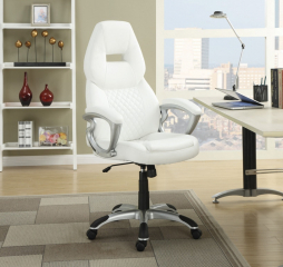 Contemporary Transitional High Back Office Chair by Coaster