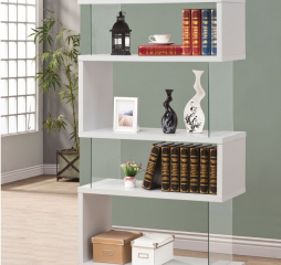 Casual Asymmetrical Bookcase by Coaster