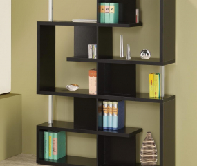 Transitional Bookcase by Coaster