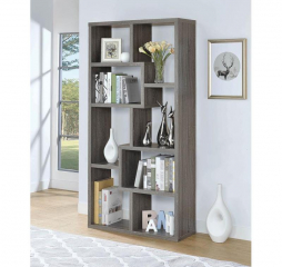 Transitional Casual Contemporary Bookcase by Coaster