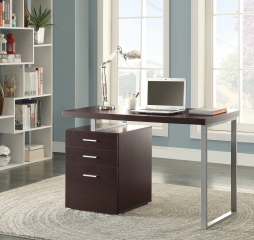 Brennan 3-Drawer Office Desk by Coaster