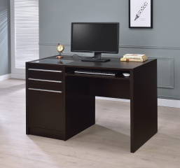 Halston 3-Drawer Rectangular Connect-it Office Desk by Coaster