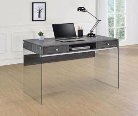 Dobrev 2-Drawer Writing Desk by Coaster