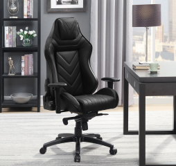 Upholstered Black Office Chair by Coaster