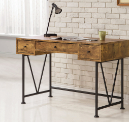 Analiese 3-Drawer Writing Desk by Coaster
