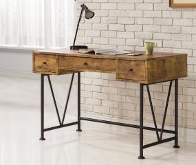 Analiese 3-Drawer Writing Desk by Coaster