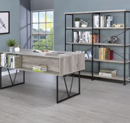 Analiese 4-Drawer Writing Desk by Homelegance