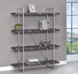 Grimma Four Shelf Bookcase by Coaster