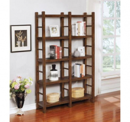 Kennesaw Four Tier Double Bookcase by Coaster