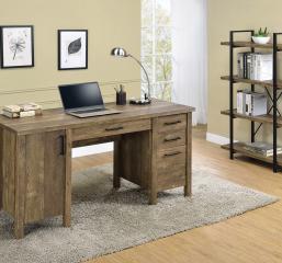 Tolar 4-Drawer Adjustable Shelf Office Desk by Coaster