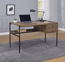Lawtey Writing Desk w/ Outlet by Coaster