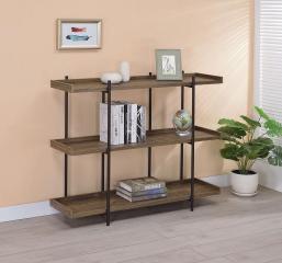 Lawtey Three Shelf Bookcase by Coaster