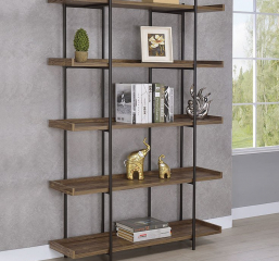 Lawtey Five Shelf Bookcase by Coaster