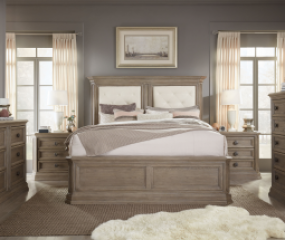 Manor House Upholstered Mansion Bed by Legacy Classic