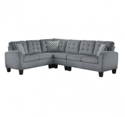 Sinclair 2 Piece Reversible Sectional by Homelegance
