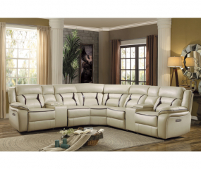 Modular Power Reclining Sectional by Homelegance