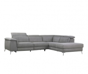 Two Piece Sectional w/ Right Chaise by Homelegance
