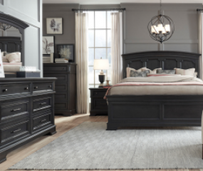 Townsend Arched Panel Bed by Legacy Classic