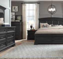 Townsend Arched Panel Storage Bed by Legacy Classic