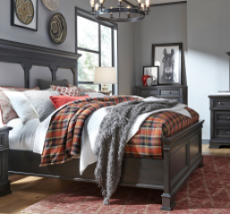 Townsend Upholstered Panel Bed by Legacy Classic