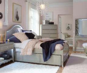 Glitz & Glam Panel Bed by Legacy Classic Kids