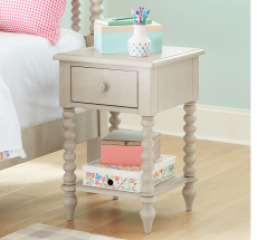 Grace Leg Nightstand by Legacy Classic Kids
