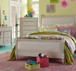 Grace Upholstered Bed by Legacy Classic Kids