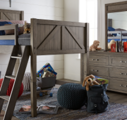 Bunkhouse Mid Loft Bed by Legacy Classic Kids