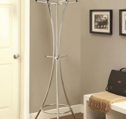 Contemporary 12-Hook Coat Rack by Coaster