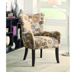 Traditional Transitional Accent Chair by Coaster