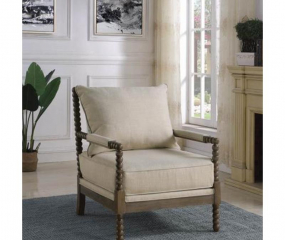 Traditional Beaded Accent Chair by Coaster