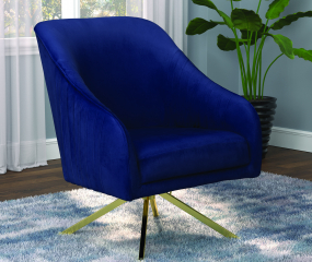 Sloped Arm Accent Chair by Coaster