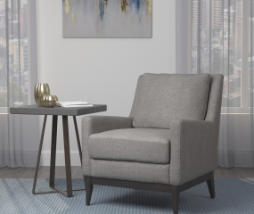 Track Arm Upholstered Accent Chair by Coaster
