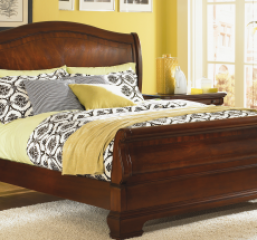 Evolution Sleigh Bed by Legacy Classic