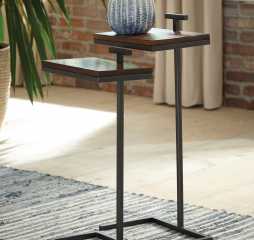 Cinnamon Two Piece Nesting Table Set by Coaster