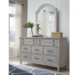 Belhaven Arched Dresser Mirror by Legacy Classic